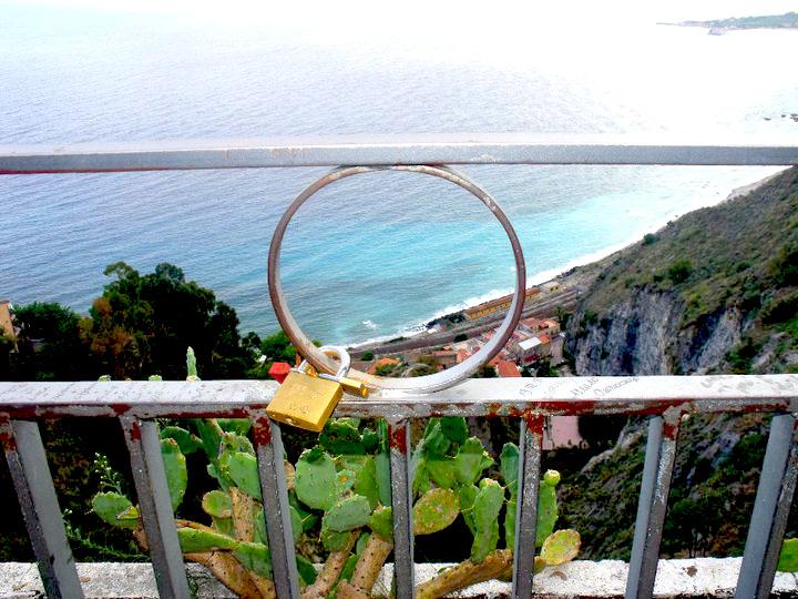 Vista su Taormina