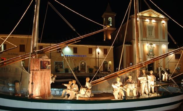 Il Presepe sulle Barche