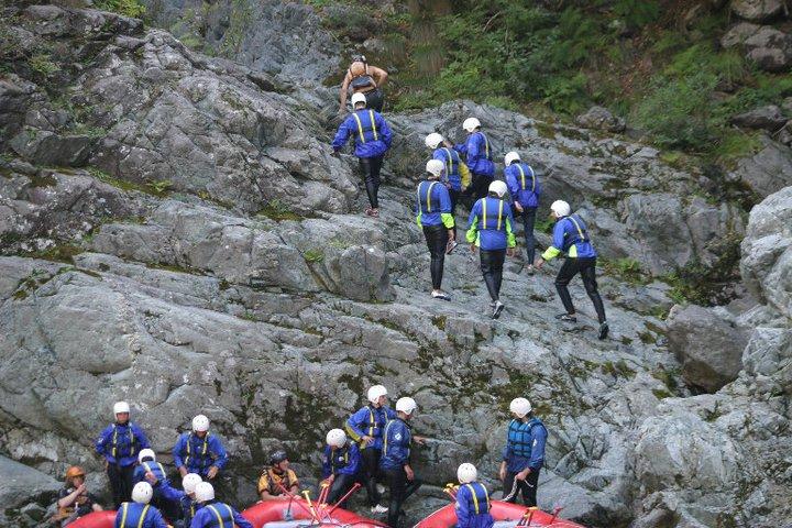 La mia esperienza con il Rafting in Valsesia