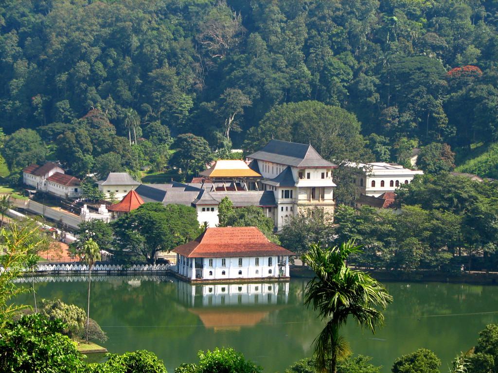 Il tempio di Kandy