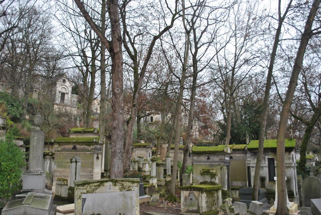 Il Cimitero di Père-Lachaise