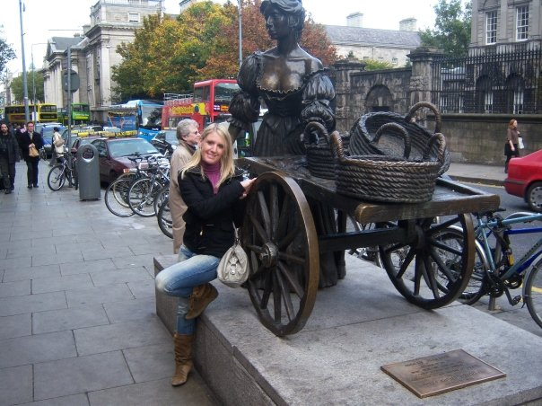 La Statua di Mollie Malone a Dublino