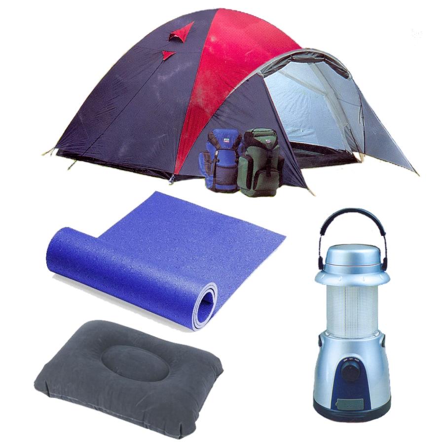 Il perfetto kit da campeggio