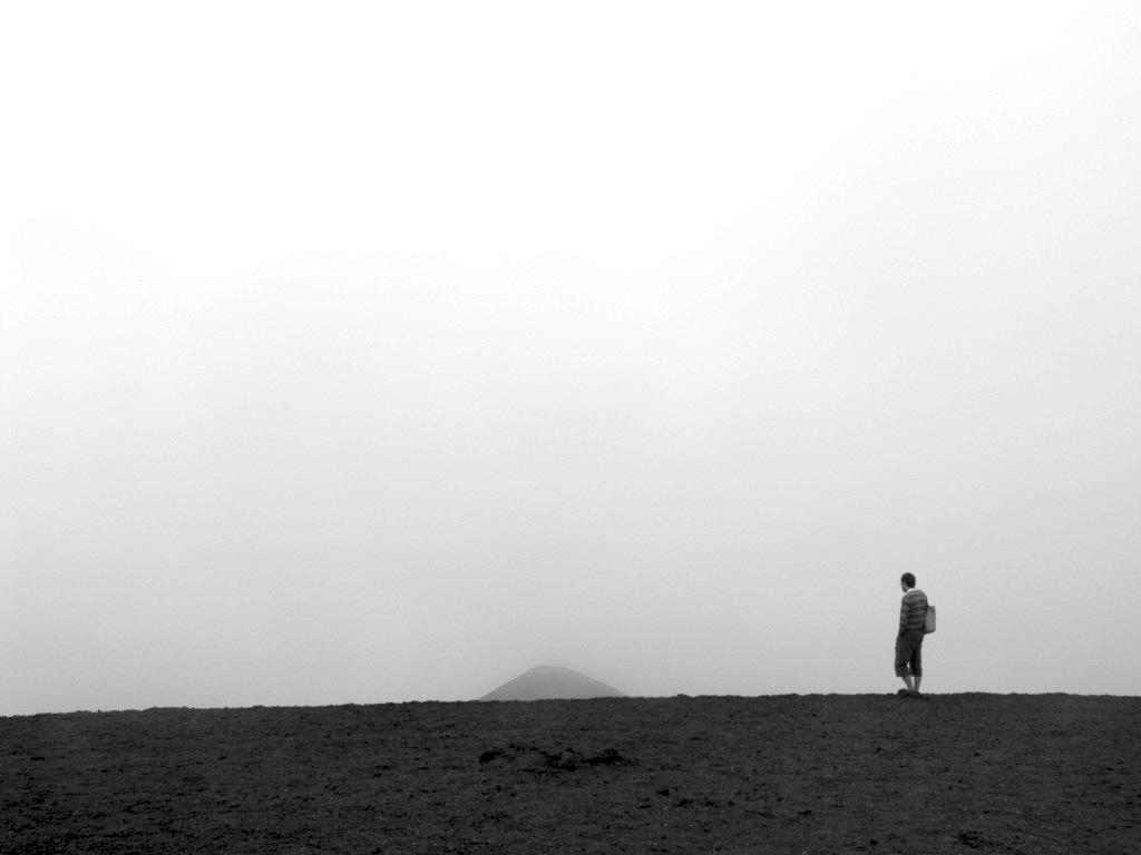 Camminando sull'Etna