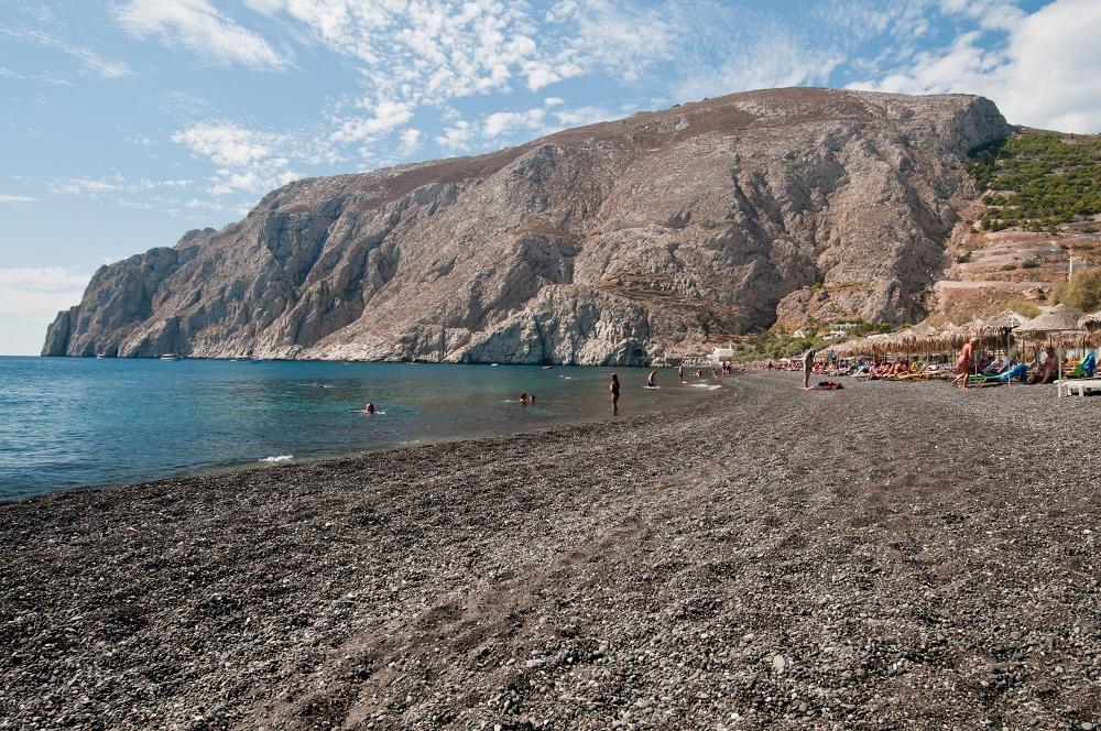 Le spiagge di Santorini; Black Beach