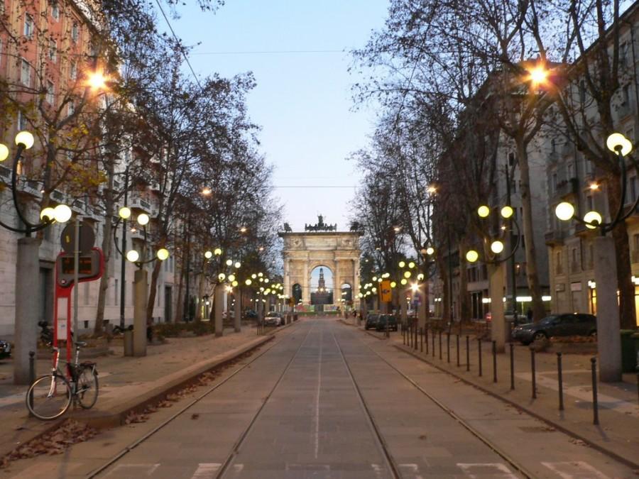 Corso Sempione a Milano