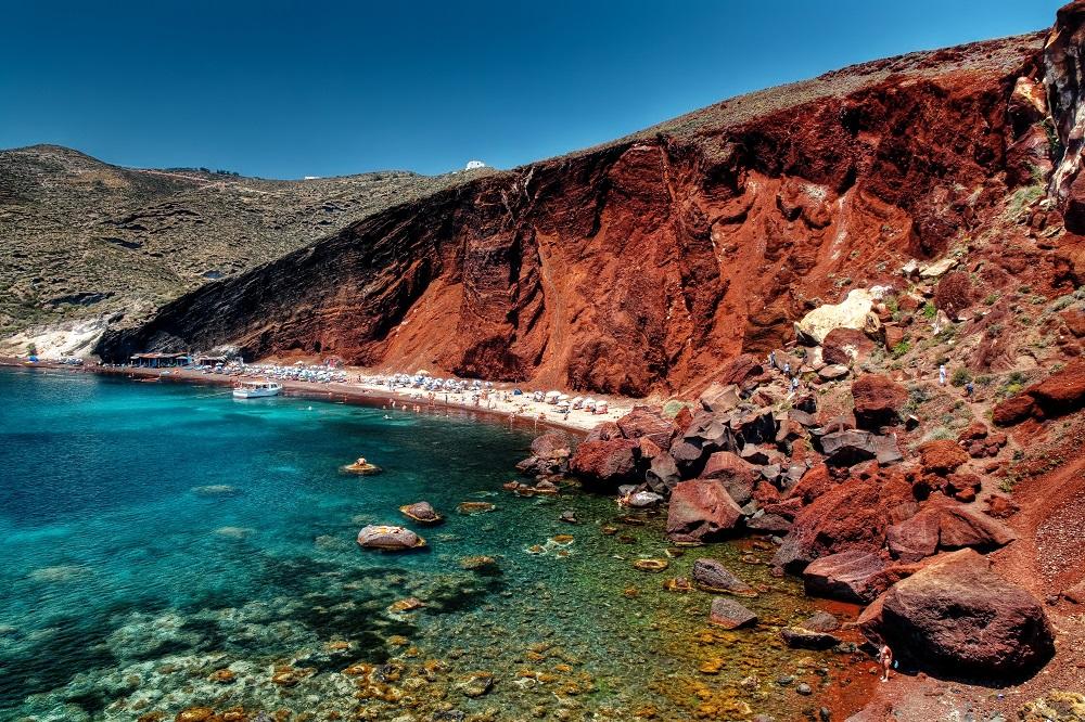 Le spiagge di Santorini; Read Beach