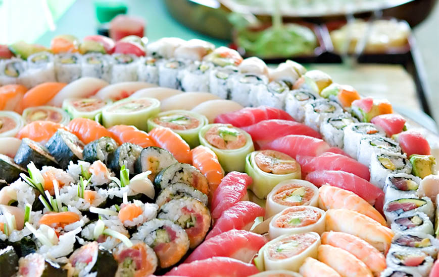 Neanche Sushi fa rima con dieta
