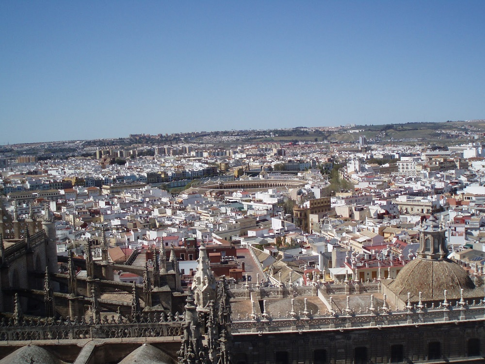 Bellissima vista su Siviglia