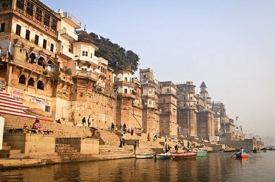 Il Gange a Varanasi - India