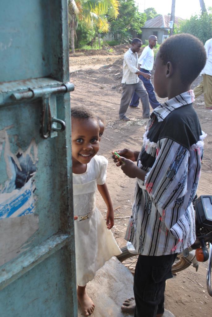Bellissima bambina di Malindi