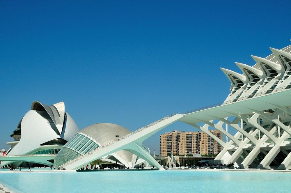 Città della scienza e delle arti a Valencia