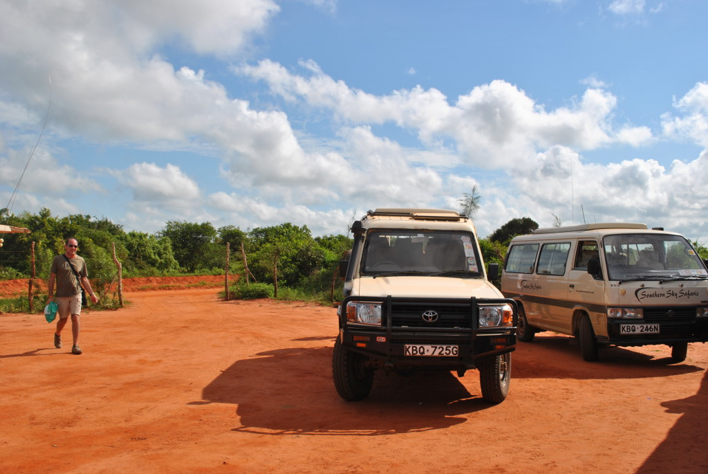 La jeep che ci porterà per tutto il Safari