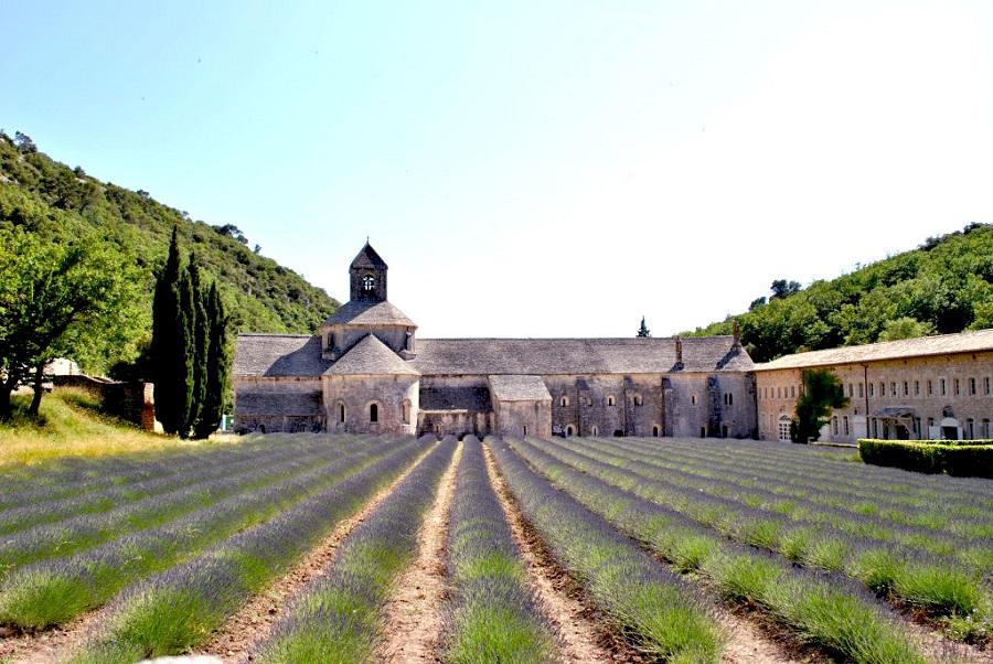 L'abbazia di Senanque