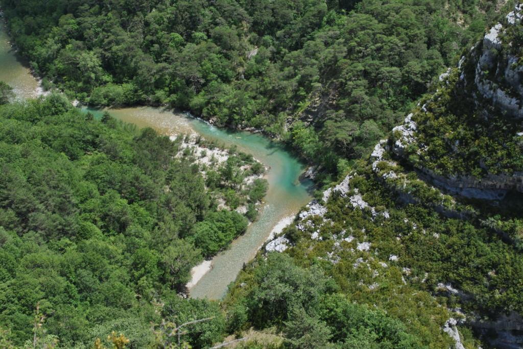 Vista dalle Gole del Verdon in provenza