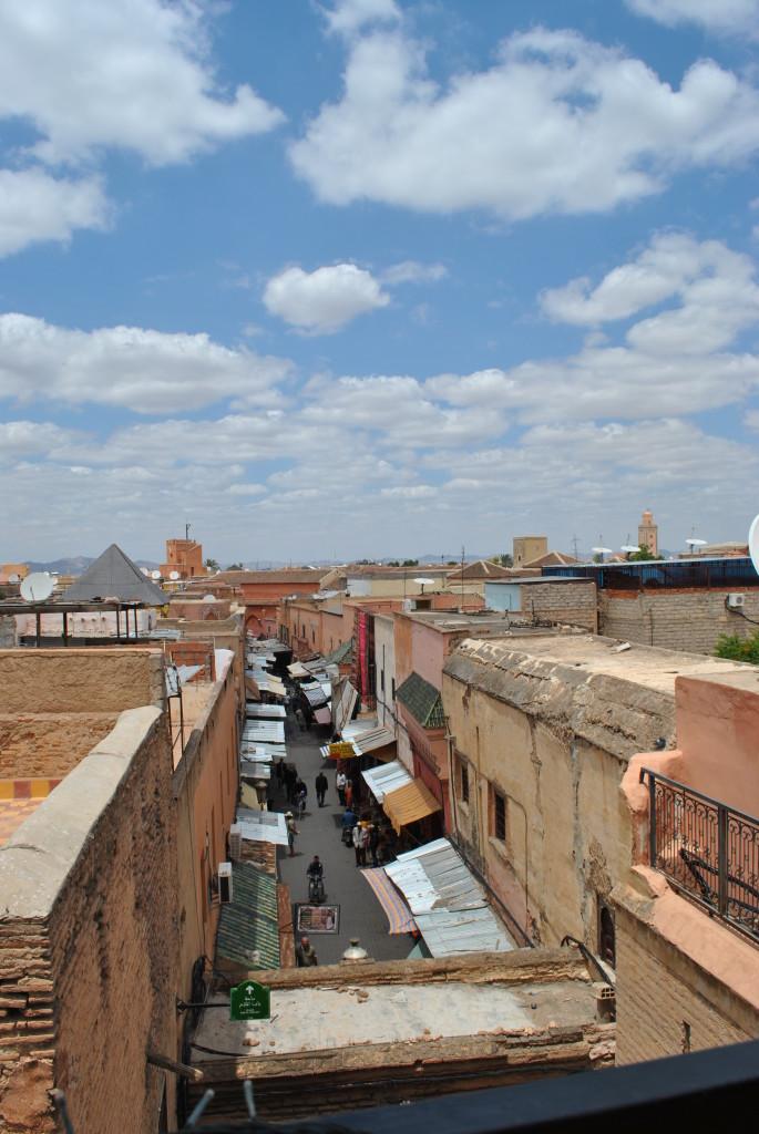 Vista dalle Fnaque Berbera