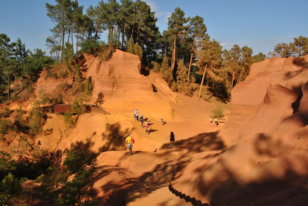 Il Tour dell'Ocra a Roussillon