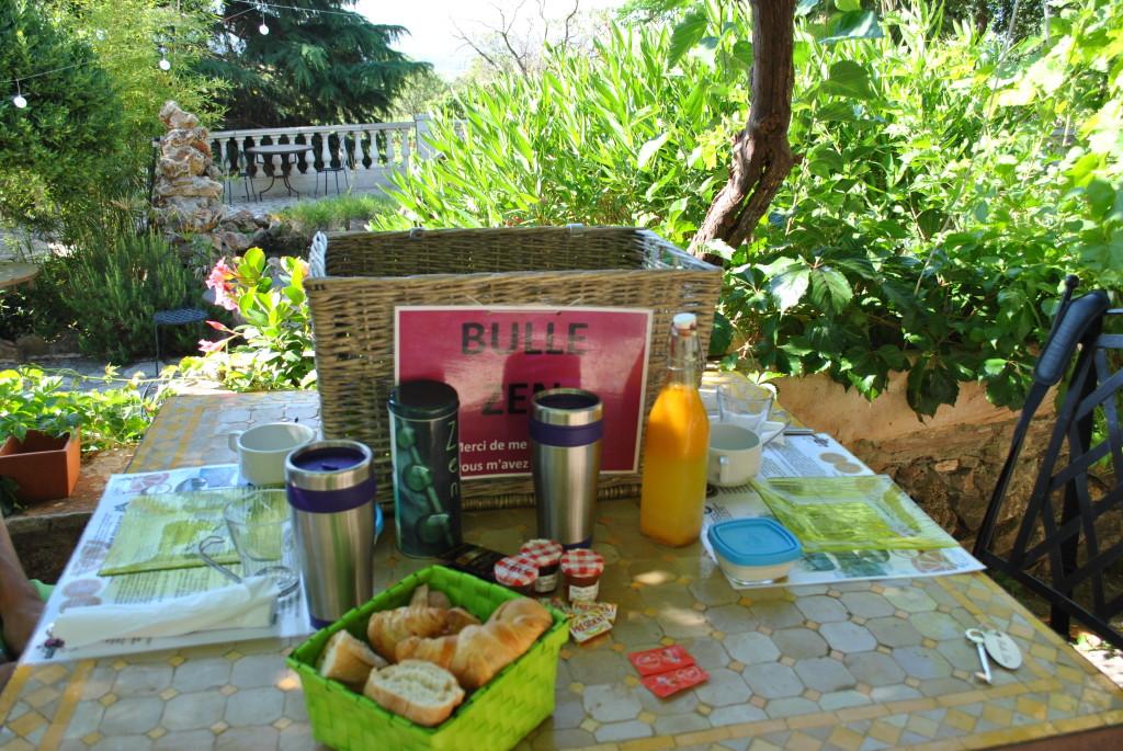 Cestino per la colazione in Bolla