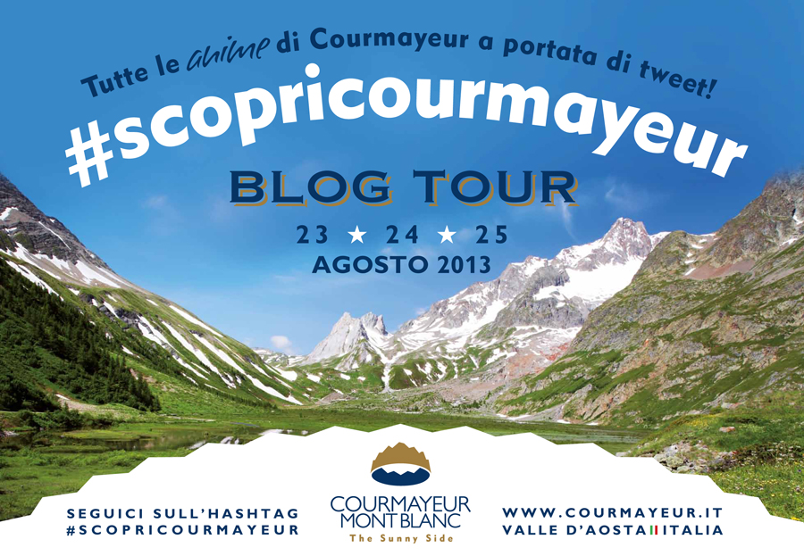Blog Tour #ScopriCourmayeur