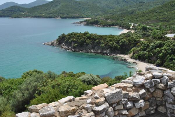 Vista da Stagira, la città di Aristotele