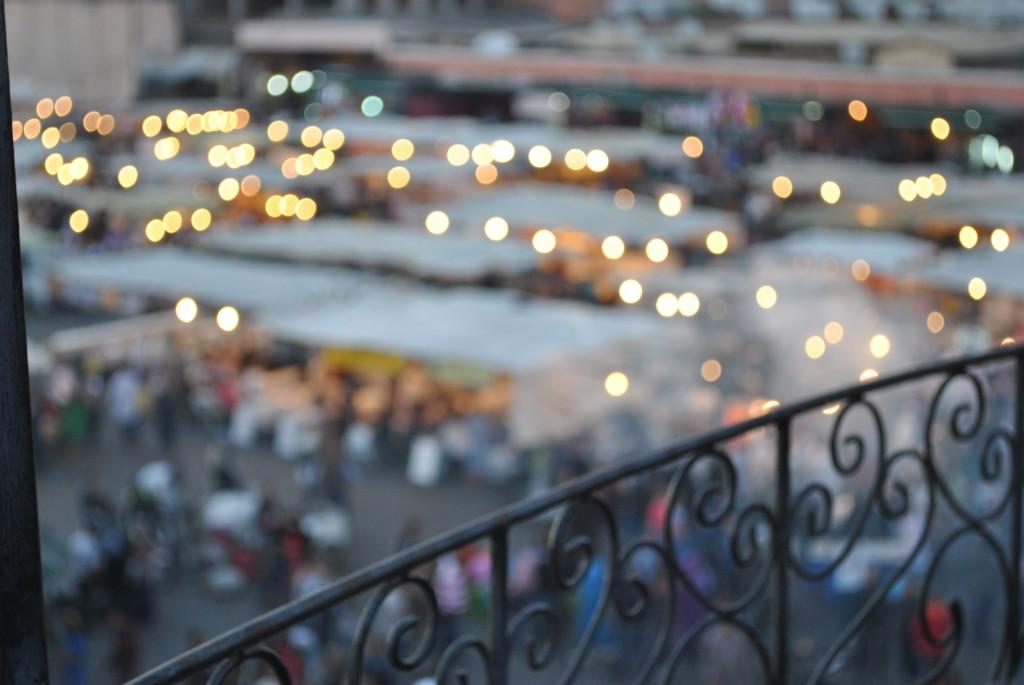 Le luci della sera a Marrakech