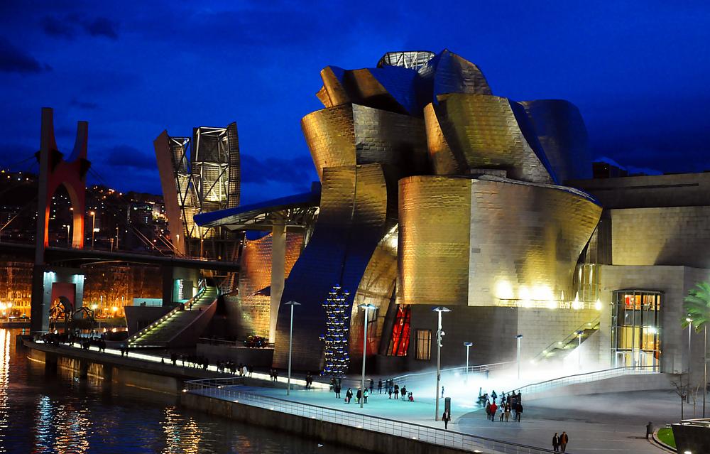 Il Guggenheim a Bilbao