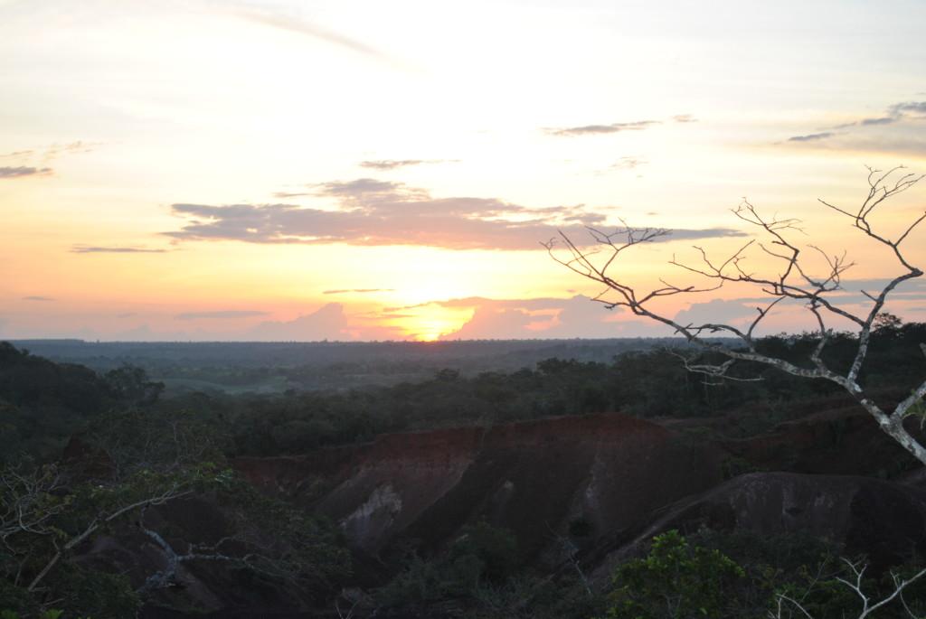 Marafa al tramonto
