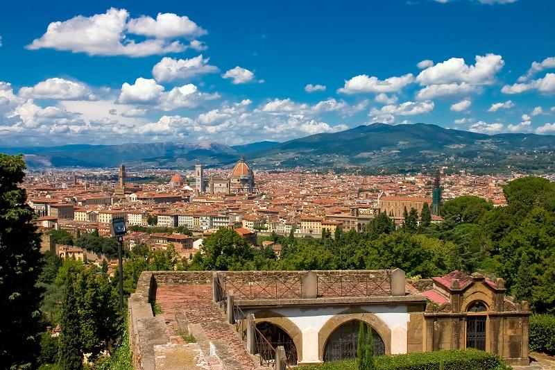Bellissima vista di Firenze