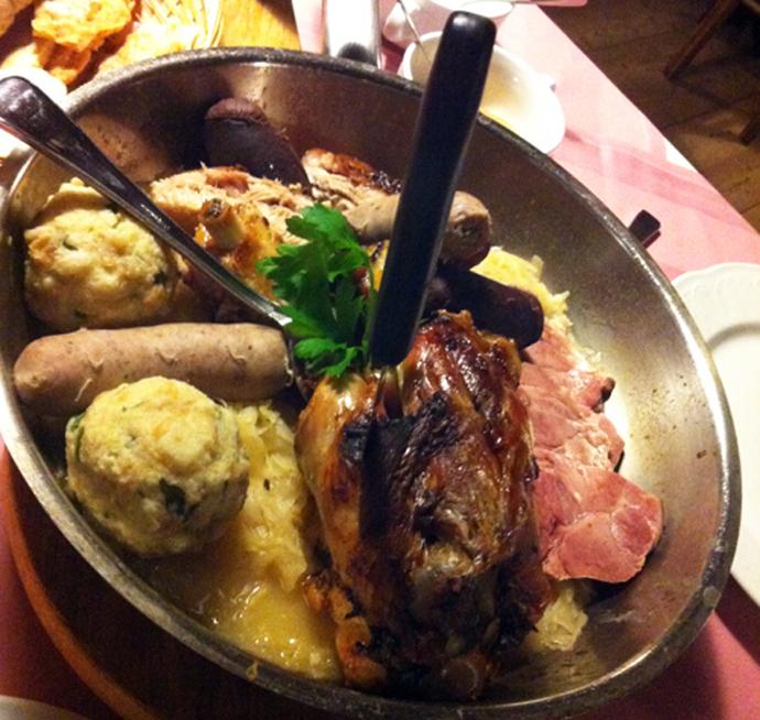 Piatto tradizionale della cucina Alto Atesina
