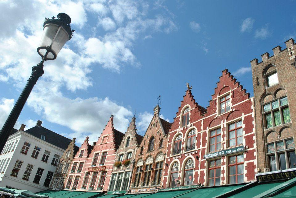 La Piazza centrale di Bruges
