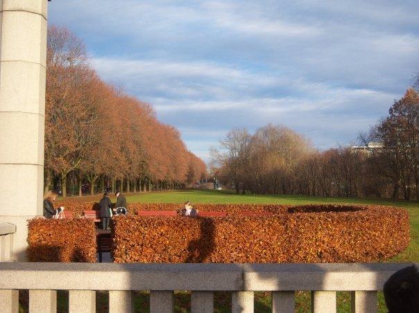 I colori di Vigeland Parc in autunno
