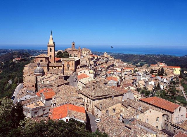 Vista da San Benedetto del Tronto