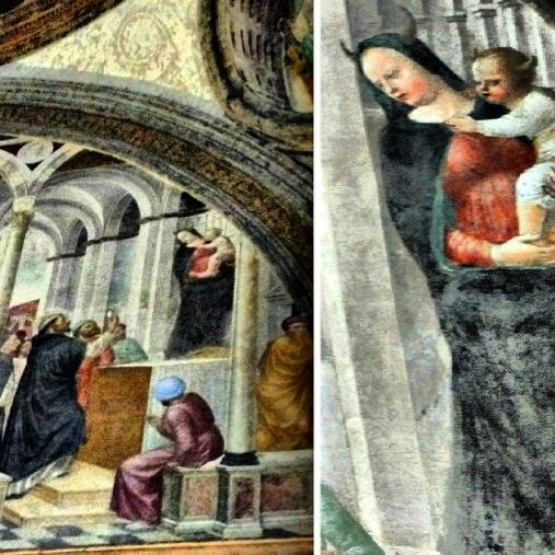 Dipinto del Museo della Basilica di S. Eustorgio