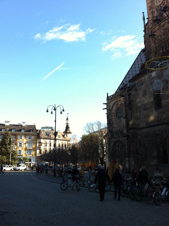 Piazza Walter e il Duomo a Bolzano