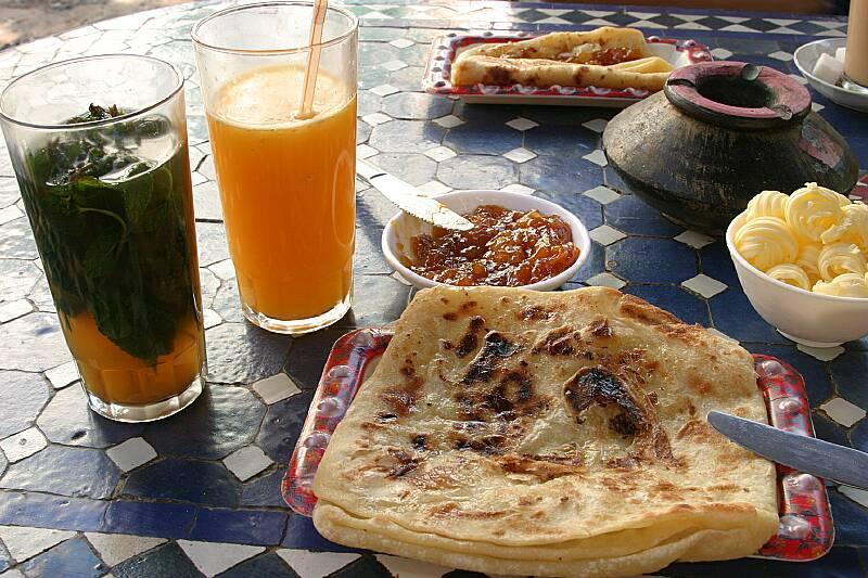 Cosa mangiare a Marrakech: non dimenticate di provare la colazione marocchina