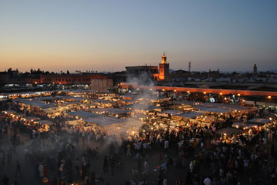 Marrakech - Piazza Djemaa el Fna
