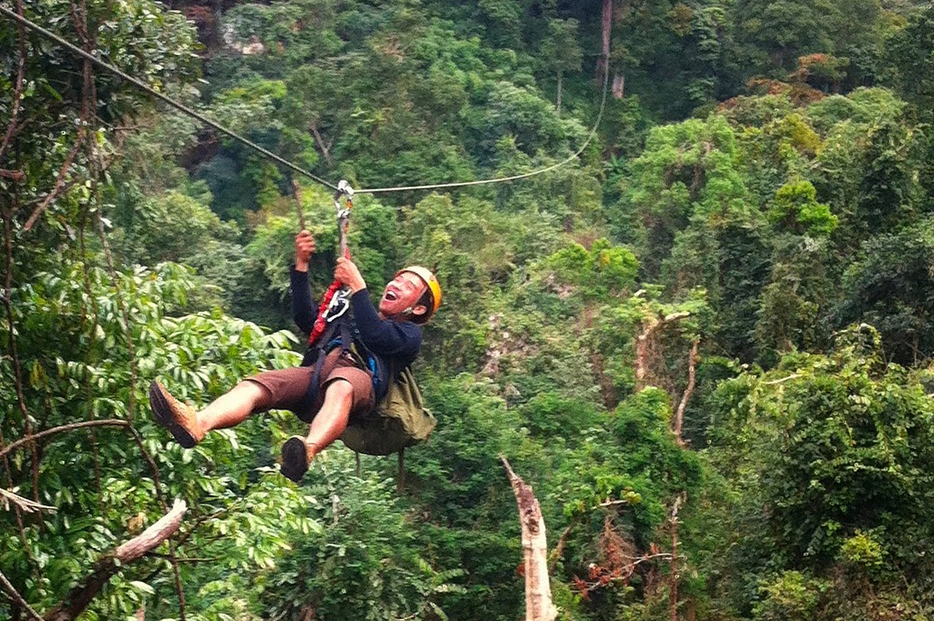 Trekking e Zipline in Laos di Valentina - viaggiarelibera.com