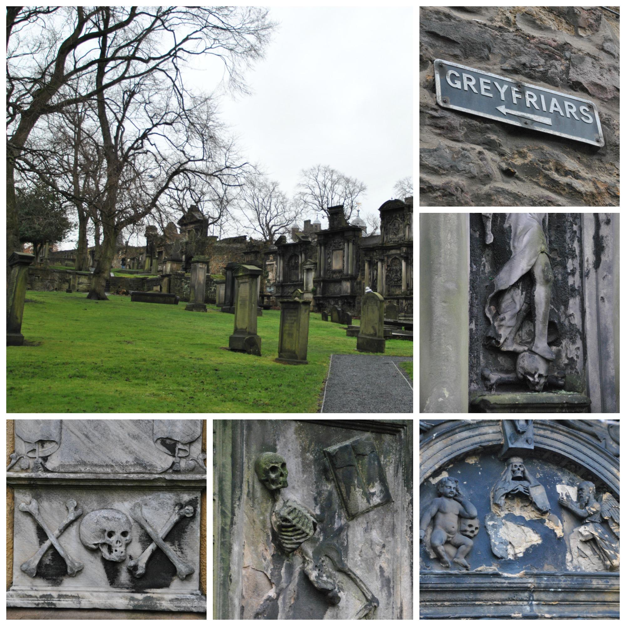 Cimitero di Greyfriars ad Edimburgo
