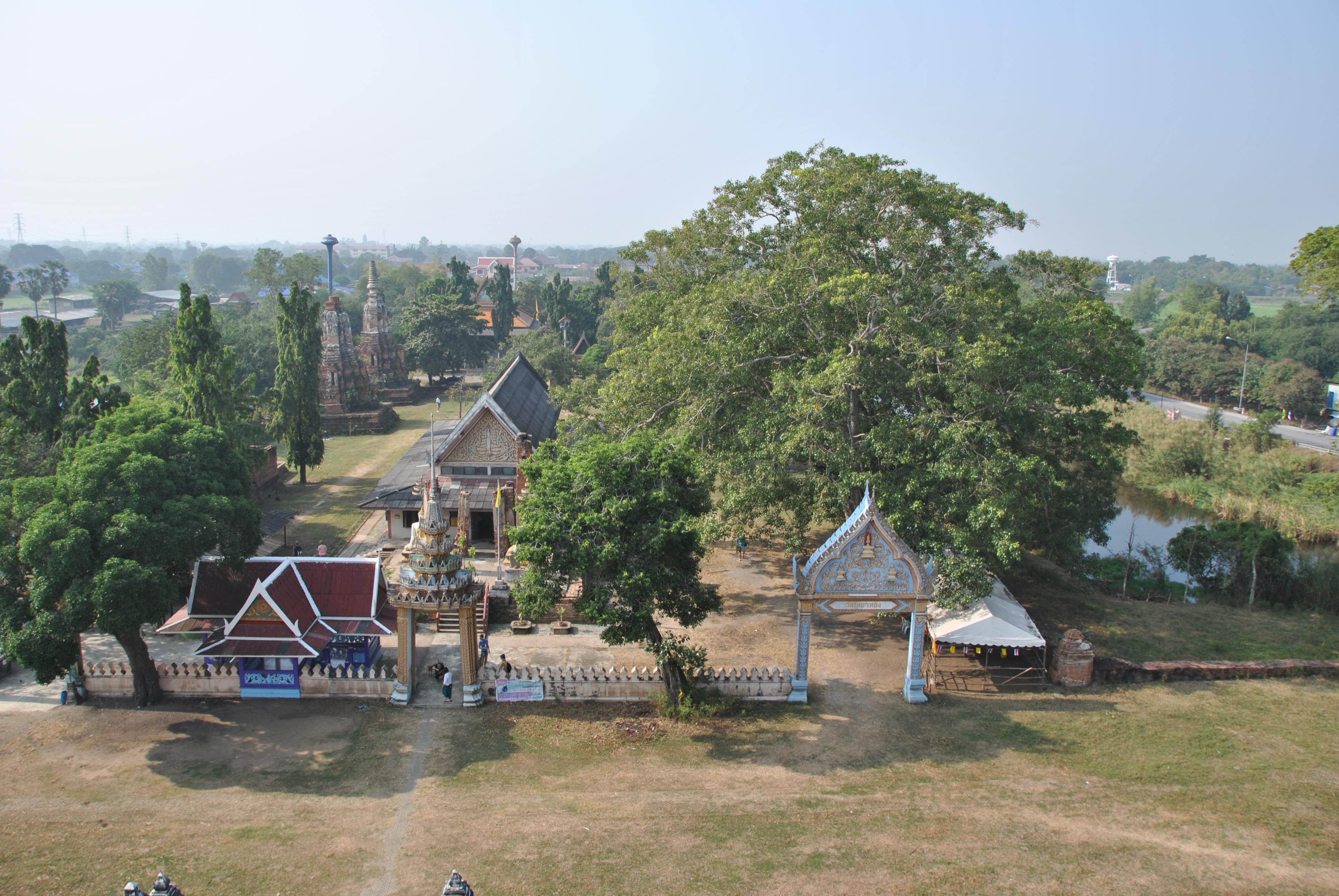 Panorama dal Wat Phu Khao Thong