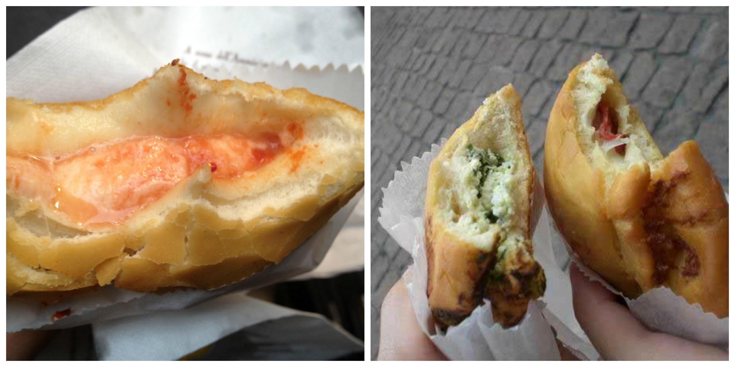 I panzerotti di Luini a Milano