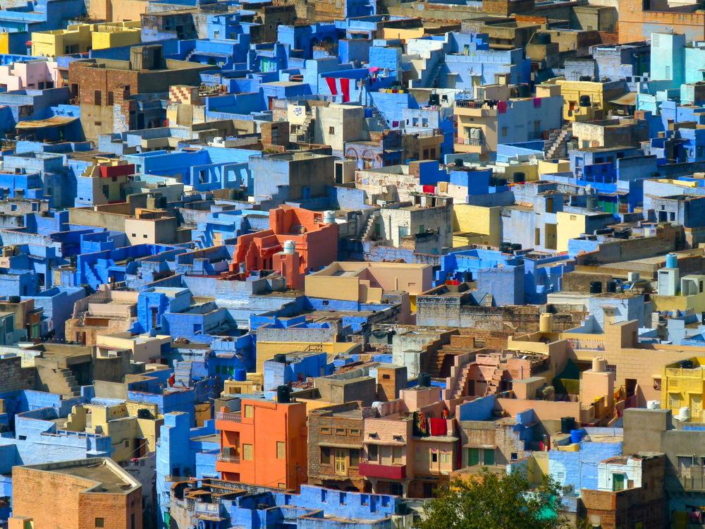 India - La città azzurra