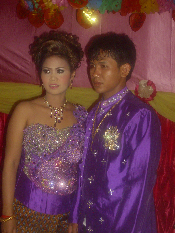 Matrimonio cambogiano - finalmente sposi!