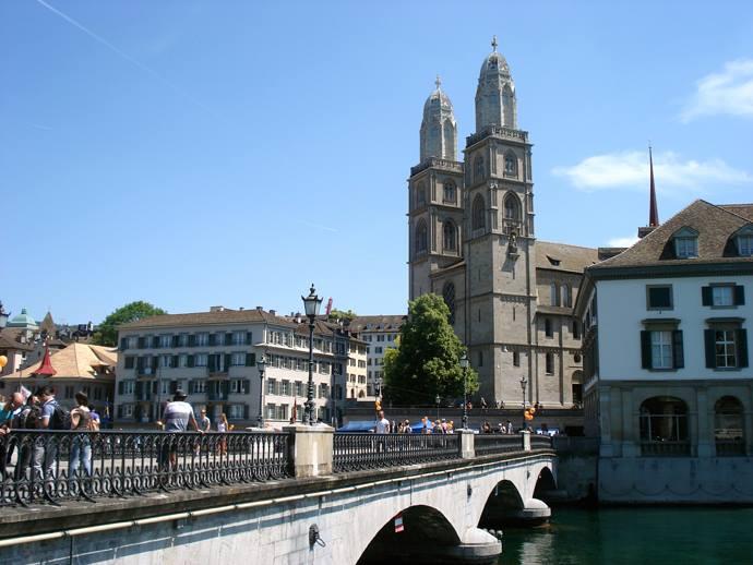 Vista di Zurigo