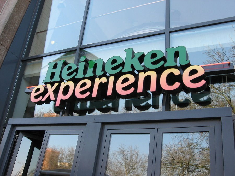 Visita alla Heineken experience di Amsterdam