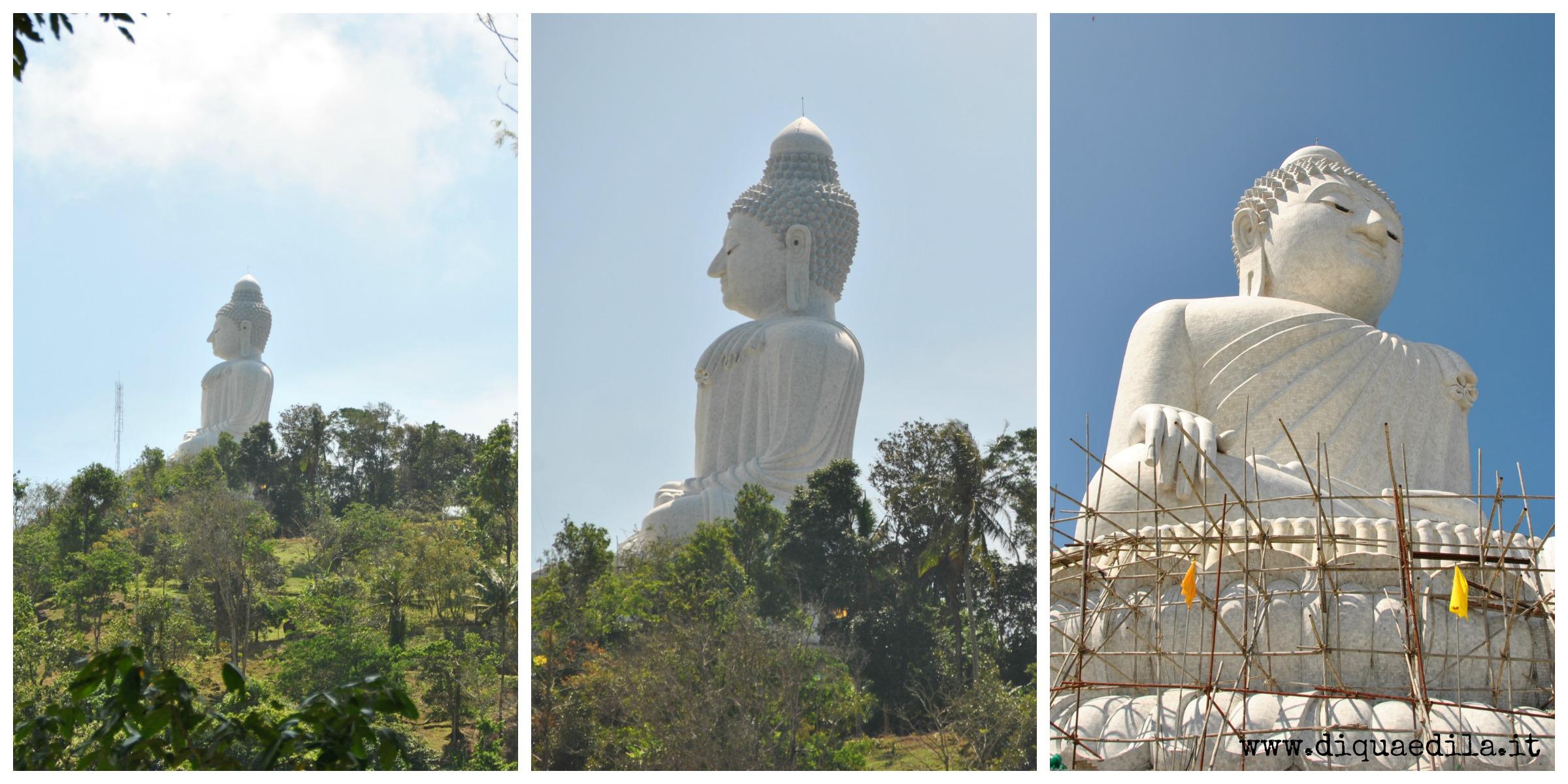 Sulle colline di Phuket, verso il Big Buddha sempre più grande!