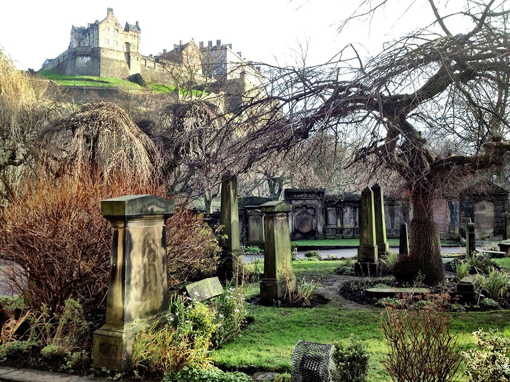Edimburgo può risultare davvero spettrale