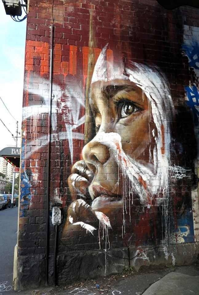 Meravigliosi graffiti di Melbourne - photo credit Pinterest Doitaustralia.com