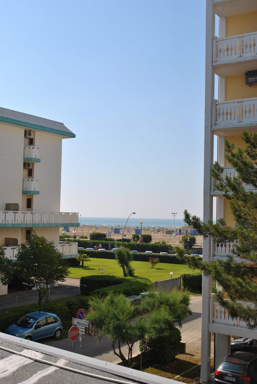 la vista dall mai stanza d'albergo all'Hotel playa
