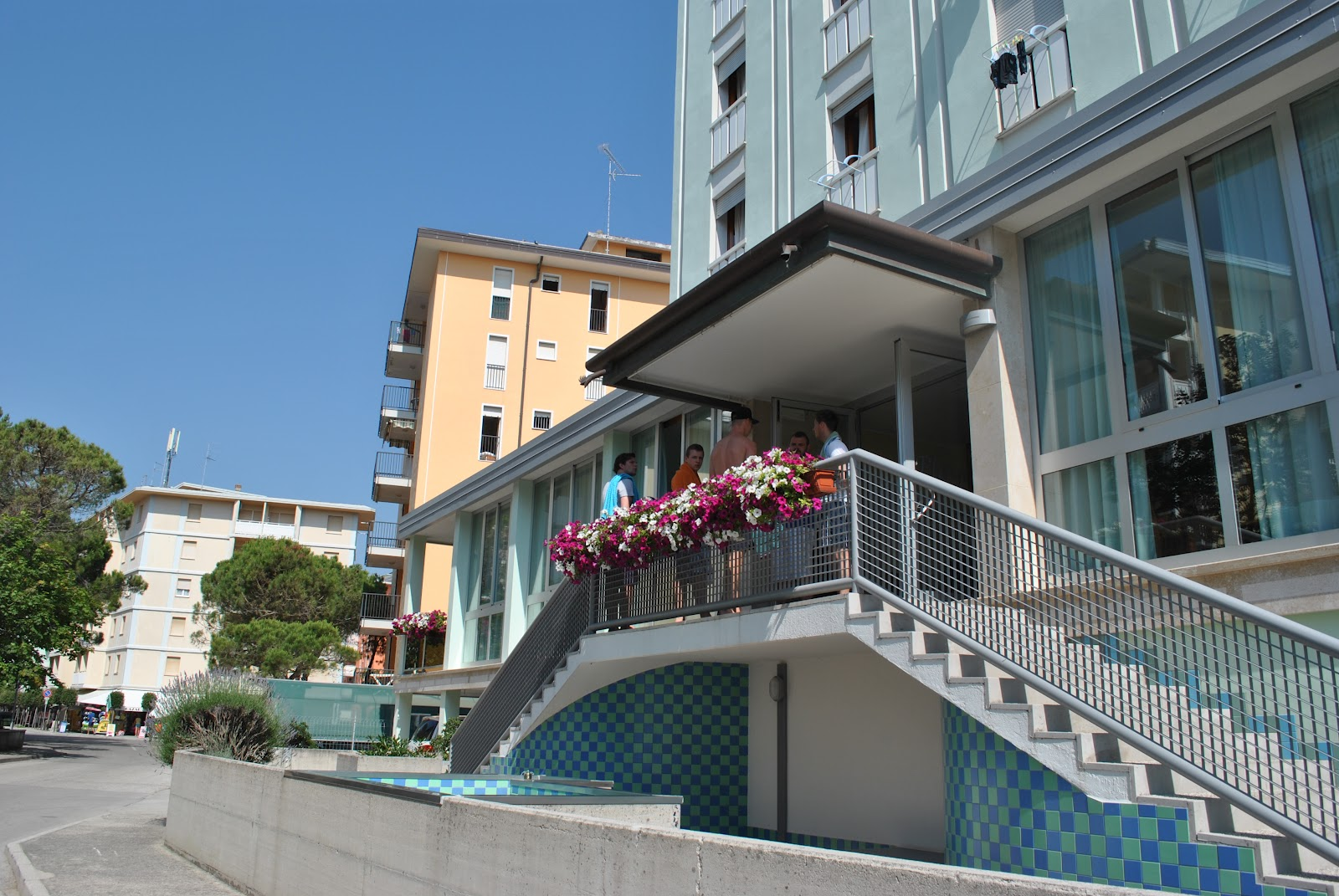 L'entrata dell'Hotel Playa