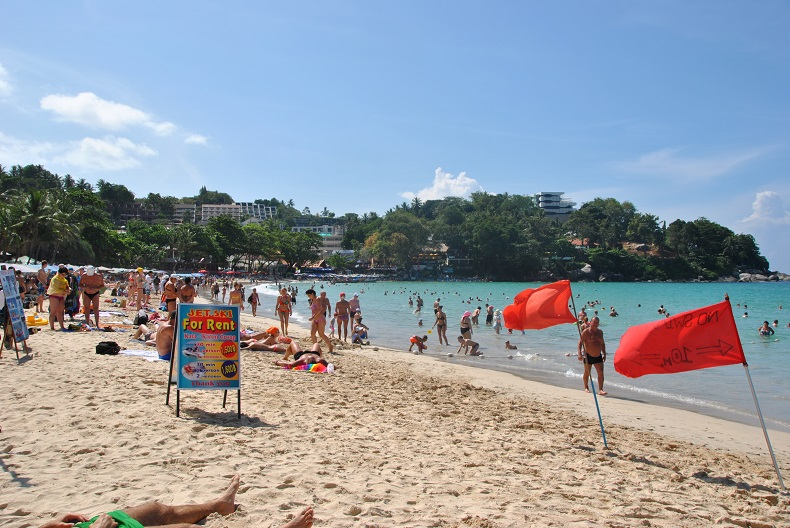 Una delle spiagge più famose di Phuket